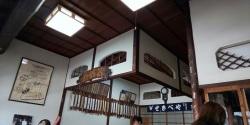 安倍川餅の石部屋(せきべや)さんの店内
